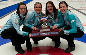 2014 Home Hardware Canada Cup of Curling, Camrose, Val Sweeting, Lori Olson-Johns, Dana Ferguson, Rachelle Brown, CCA/michael burns photo